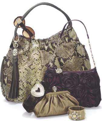 Brighton handbags and purses are wearable works of art